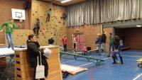 Test je gym skills op de Open dag van het Edison College - Happinique
